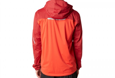 FOX Veste Imperméable CITY SLICKER Rouge Orange