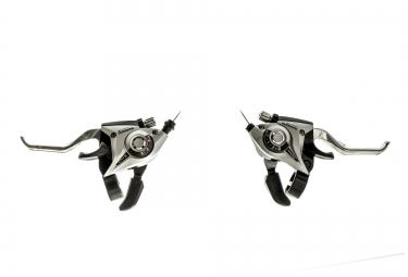 Shimano Paire de Commande de vitesses + Levier de frein ACERA ST-EF51 3x7V Argent