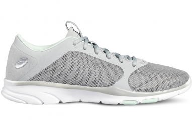Asics gel fit tempo 3 s752n 9693 femme chaussures de fitness argent 35 1 2