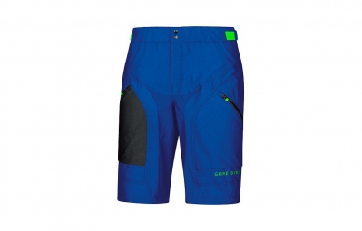 GORE BIKE WEAR Short+ POWER TRAIL Bleu