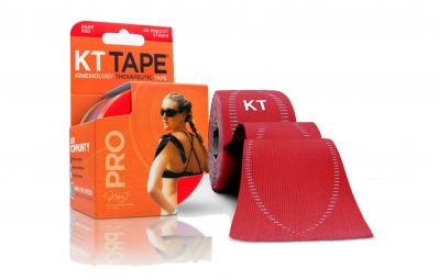 KT TAPE Roll precut tape PRO Red 20 tapes