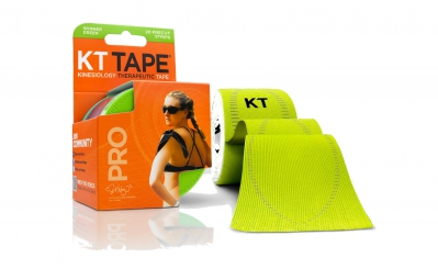 KT TAPE Roll precut tape PRO Green 20 tapes
