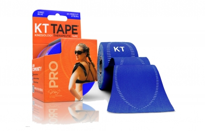 KT TAPE Roll precut tape PRO Sonic Blue 20 tapes