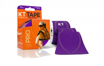 KT TAPE Roll precut tape PRO Purple 20 tapes