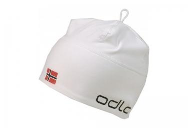 ODLO Beanie PolyKnit Team Norge White