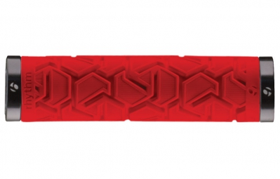 BONTRAGER Grips Rhythm Plus 130mm Red