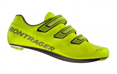 bontrager chaussures route xxx le jaune fluo 45