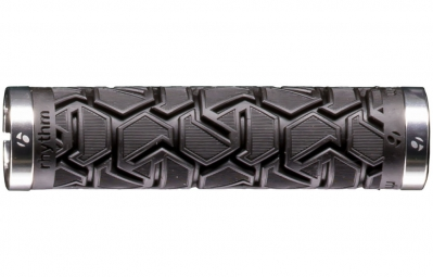 BONTRAGER Grips Rhythm Plus 130mm Black