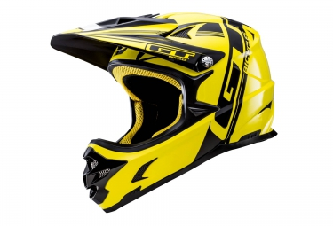 casque integral gt fury jaune s 55 56 cm
