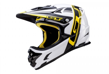 casque integral gt fury blanc s 55 56 cm