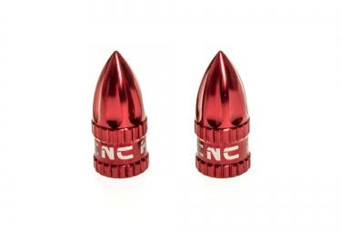 KCNC Bouchons de valve (Presta) Rouge