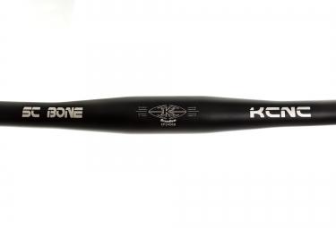 KCNC Guidon Plat SC BONE XC Scandium 31.8x710mm Noir