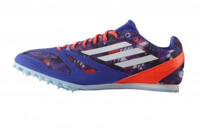 adidas Chaussures TECHSTAR ALLROUND 3 Homme Violet Blanc