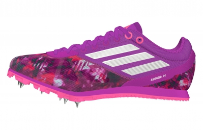 adidas Chaussures Arriba 4 Femme Violet Blanc
