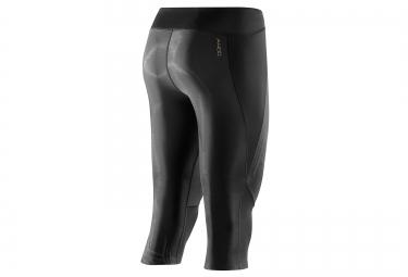 corsaire de compression skins a400 starlight femme noir xs