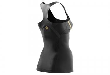 debardeur de compression skins a400 femme noir m