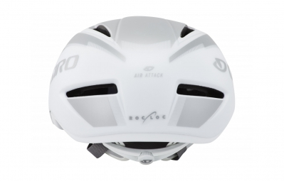 Casco Giro air attack shield Blanco Plateado