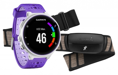 Montre GPS Garmin Forerunner 230 HRM Blanc / Violet