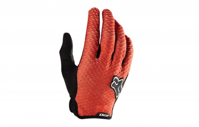 FOX Paire de gants ATTACK Noir Orange