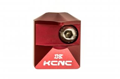 KCNC Cache fixation  Direct Mount/Décapsuleur Rouge