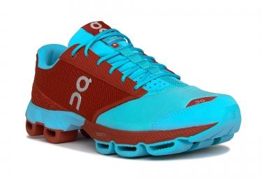 ON RUNNING Cloudster Rouge Bleu