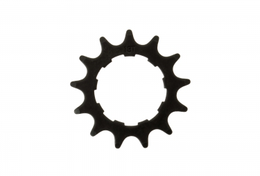 GLOBAL RACING Single Speed Cog Chromoly Black