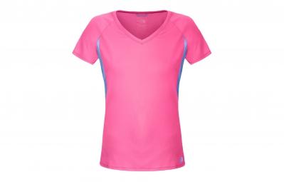 The north face maillot reflex rose bleu femme m