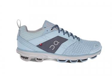 Chaussures de Running Femme ON Running CLOUDCRUISER Bleu / Gris