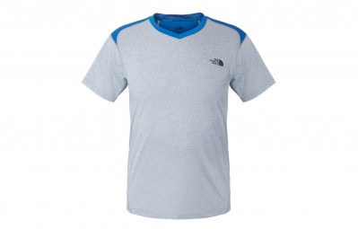 THE NORTH FACE Maillot REACTOR Gris Bleu Homme