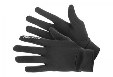 Pack Paire de Gants et Bonnet Craft Hybrid Noir
