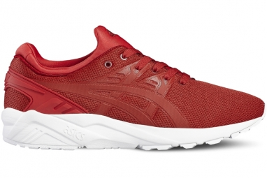 Asics gel kayano trainer evo h707n 2323 homme baskets rouge 44