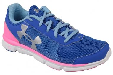 Ua micro g speed swift k 1266305 400 enfant mixte chaussures de running bleu 35 1 2