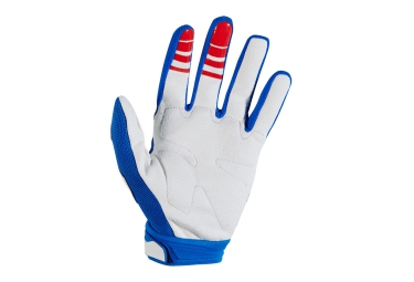 FOX Paire de gants DIRTPAW RACE Bleu Rouge