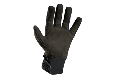 fox paire de gants longs forge cold weather noir m
