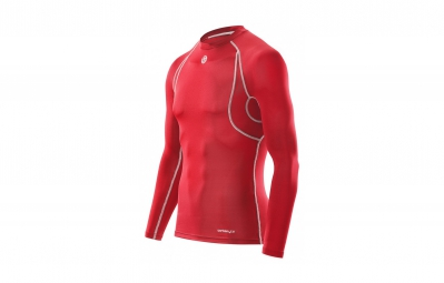 Maillot Thermique SKINS CARBONYTE Homme Rouge