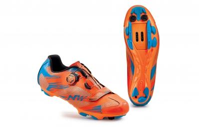 Chaussures VTT Northwave Scorpius 2 plus orange / bleu