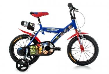 Vélo Enfant Dino Bikes AVENGERS 14'' Bleu