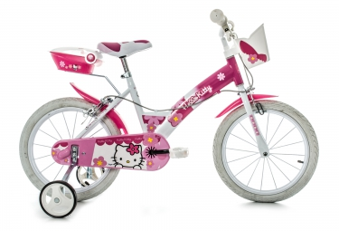 Vélo Enfant Dino Bikes HELLO KITTY 16'' Rose