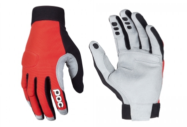 POC Paire De Gants INDEX FLOW Rouge