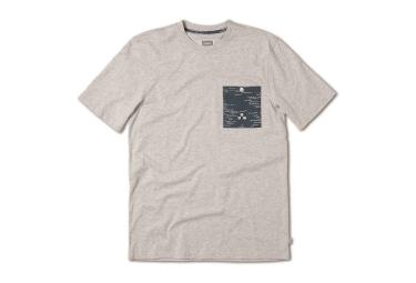ALTAMONT T-Shirt WELLEN-CREW Grau