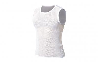 Image of Maillot sans manches biotex net flat seam blanc m