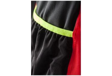 craft maillot manches courtes trail rouge noir l