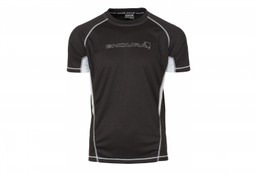 ENDURA short sleeve jersey Black CAIRN