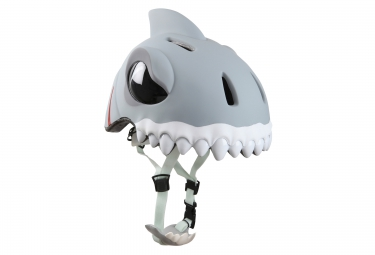 CRAZY SAFETY 2016 Casque Enfant Requin Blanc (49-55) 3 à 6 ans