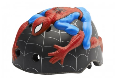 CRAZY SAFETY 2016 Casque Enfant Spiderman (52-58) 3 à 6 ans