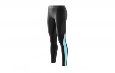 SKINS Collant Thermique Compression A200 THERMAL Noir Bleu Femme