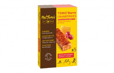 meltonic barre energetique miel cranberries