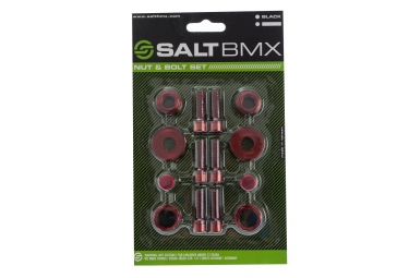 SALT Visserie NUT & BOLT SET Rouge