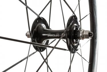 gipiemme paire de roues pista h60 boyaux carbone