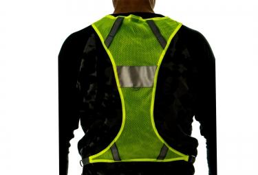 NATHAN Photon LED Vest Hi-Viz Yellow